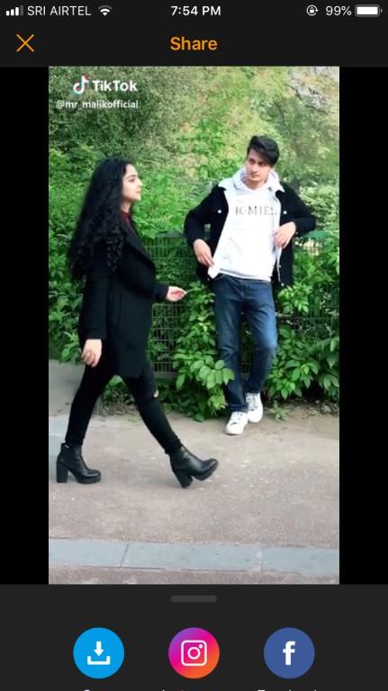 make boomerang from video