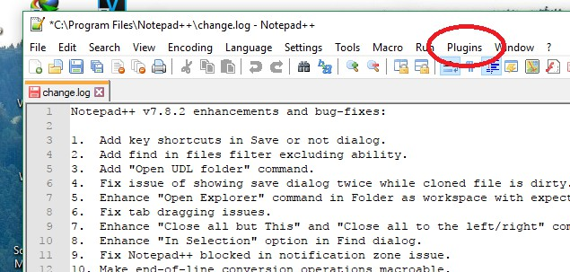 notepad++ disable spell check
