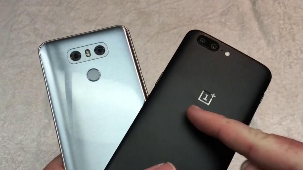 oneplus 5 vs lg g6