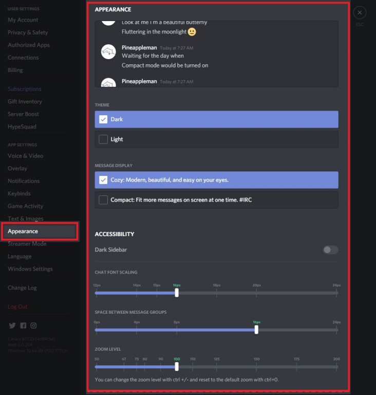 how to change your discord theme