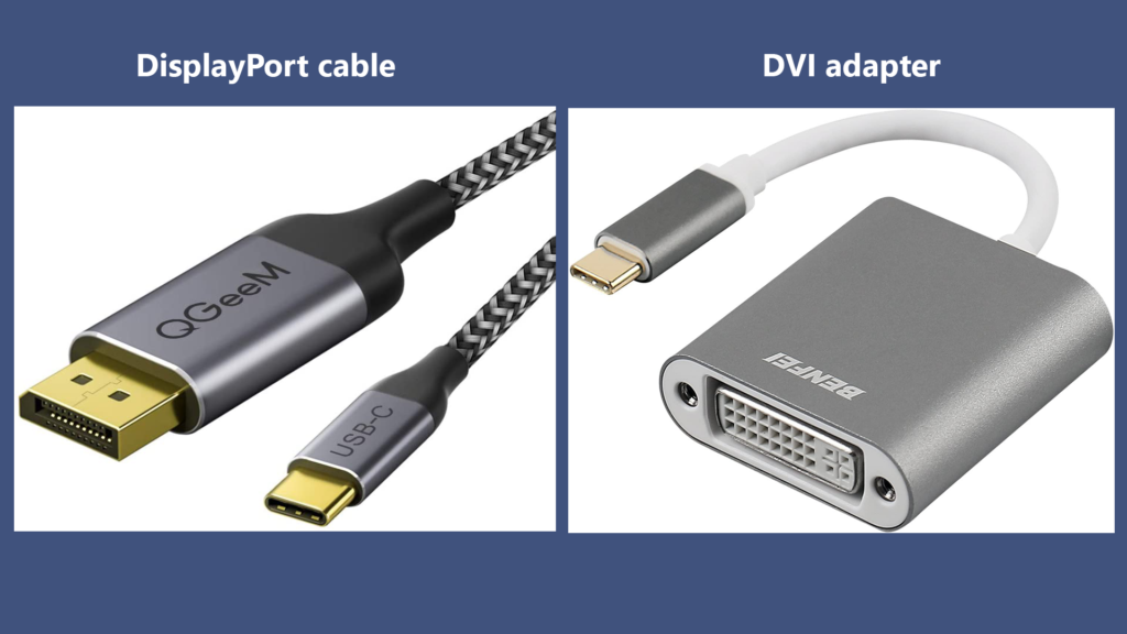 How to DisplayPort Cable a Thunderbolt?